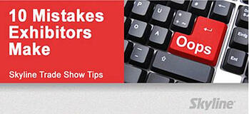 10 mistakes every exhibitor make
