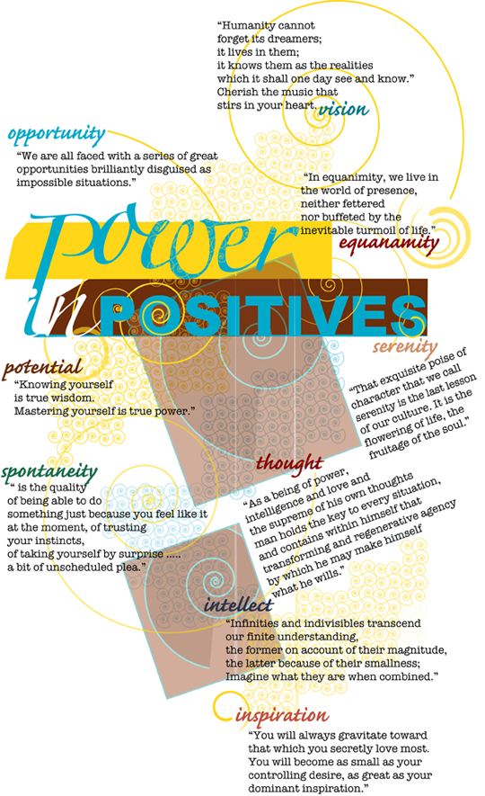 cool design: power in positives