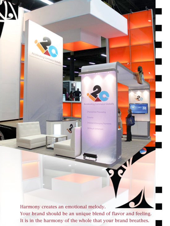 Open, White Booth Design
