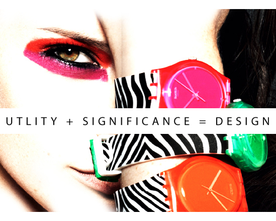 design=utility and significance