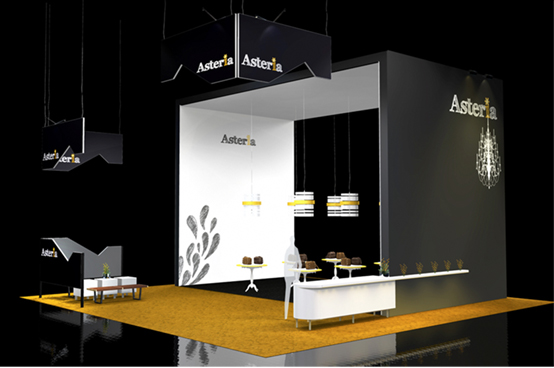 Two Side Open Booth Design