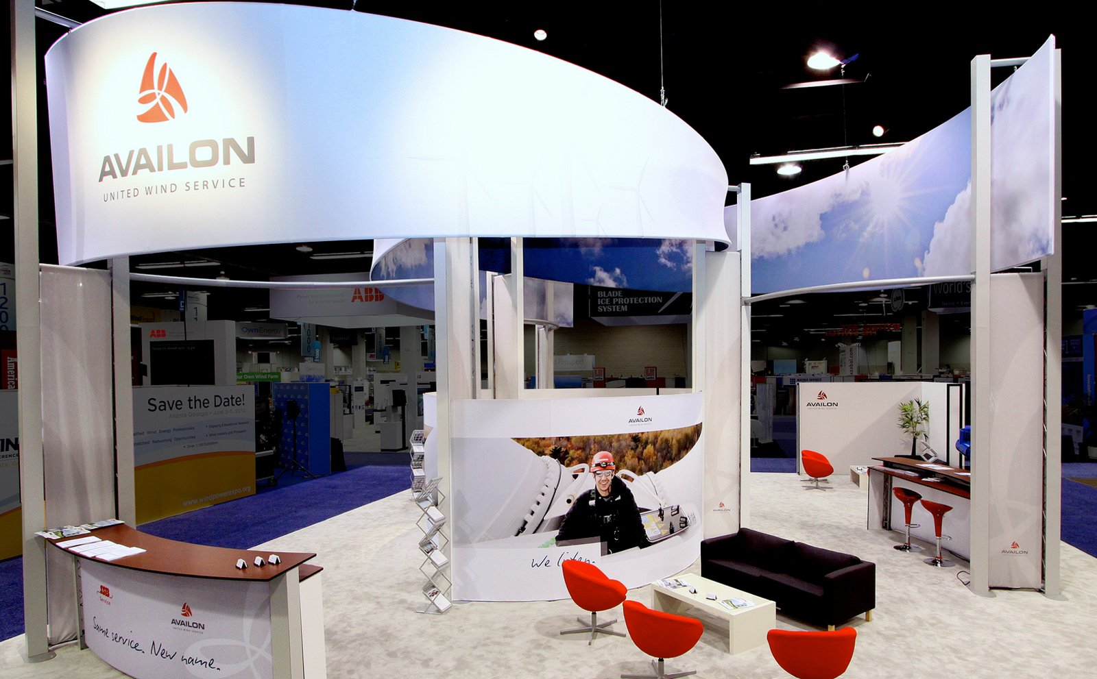 Open Trade Show Booth Design