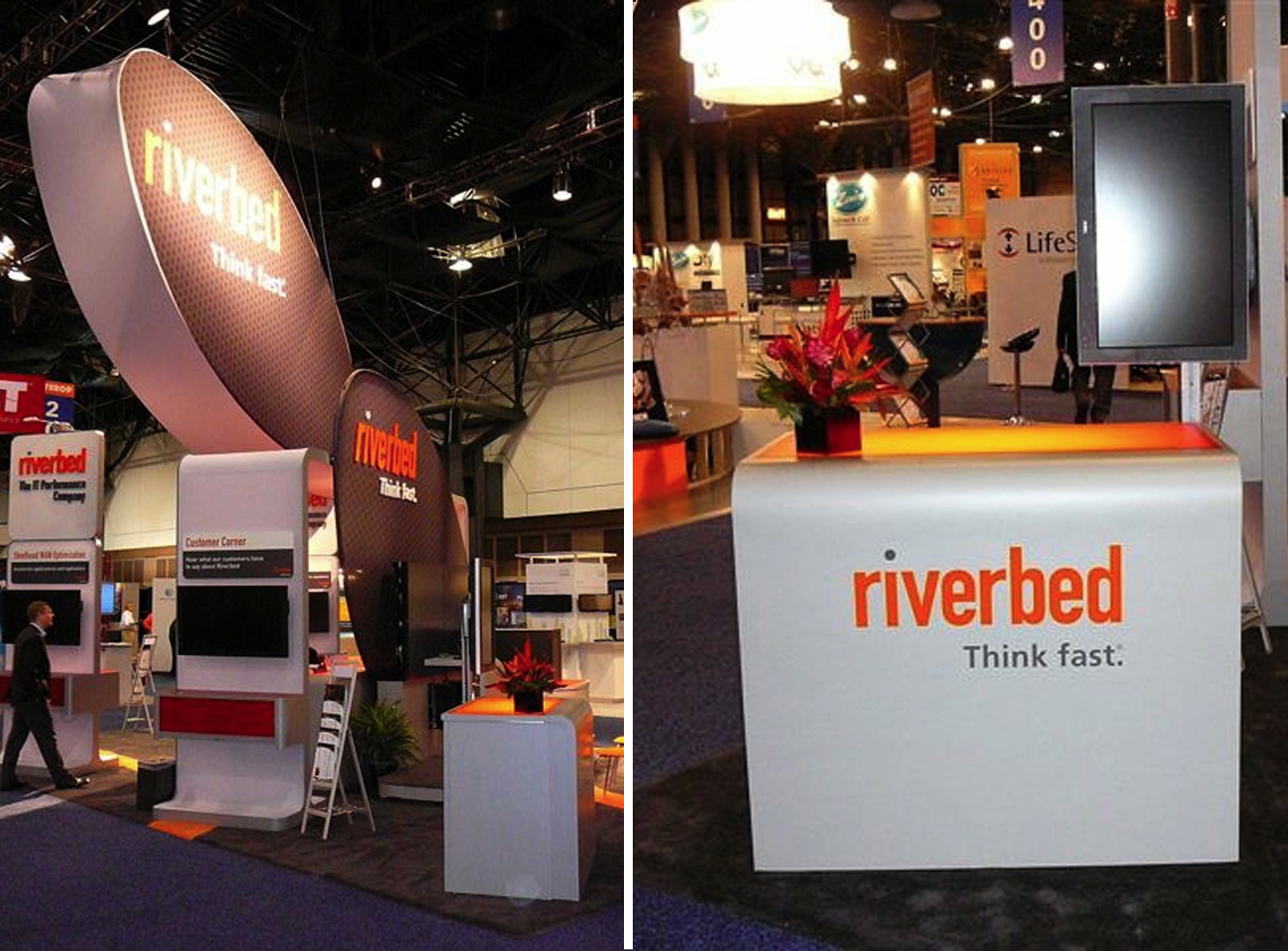 Riverbed Island booth