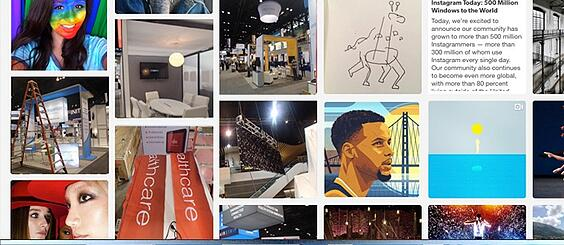 INSTAGRAM FOR TRADE SHOWS