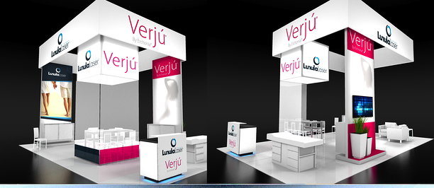 booth design with digital partners