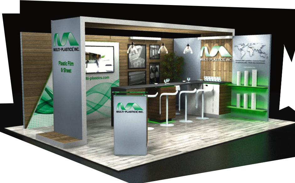 combine cistpm pieces with modular exhibits