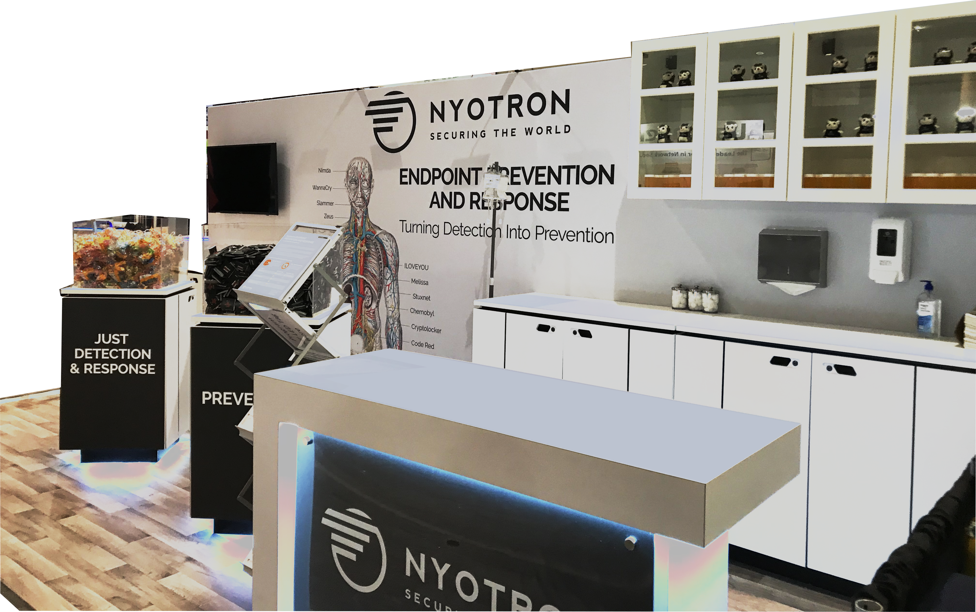 booth design for detection and prevention