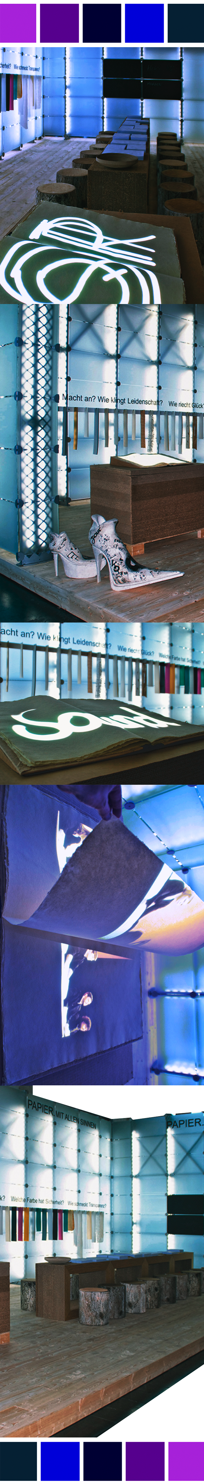 booth design with projection screen on giant book-1