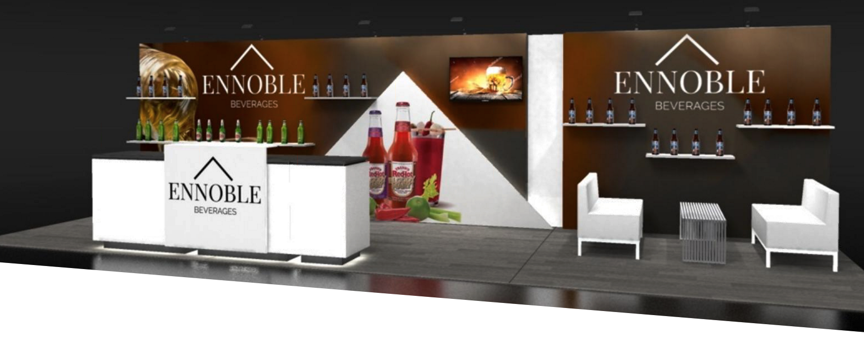 reconfigurable trade show booth design
