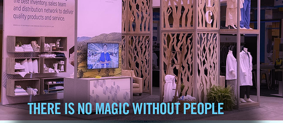 there is no magic without people