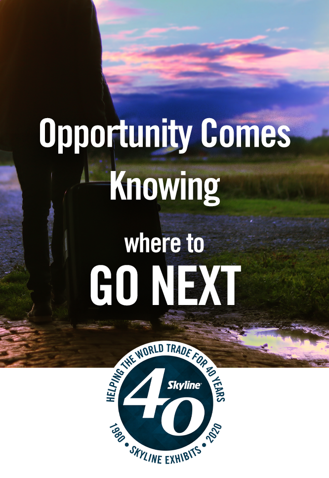 opportunity COMES KNOWING WHERE TO GO NEXT