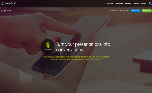 turn your presentation