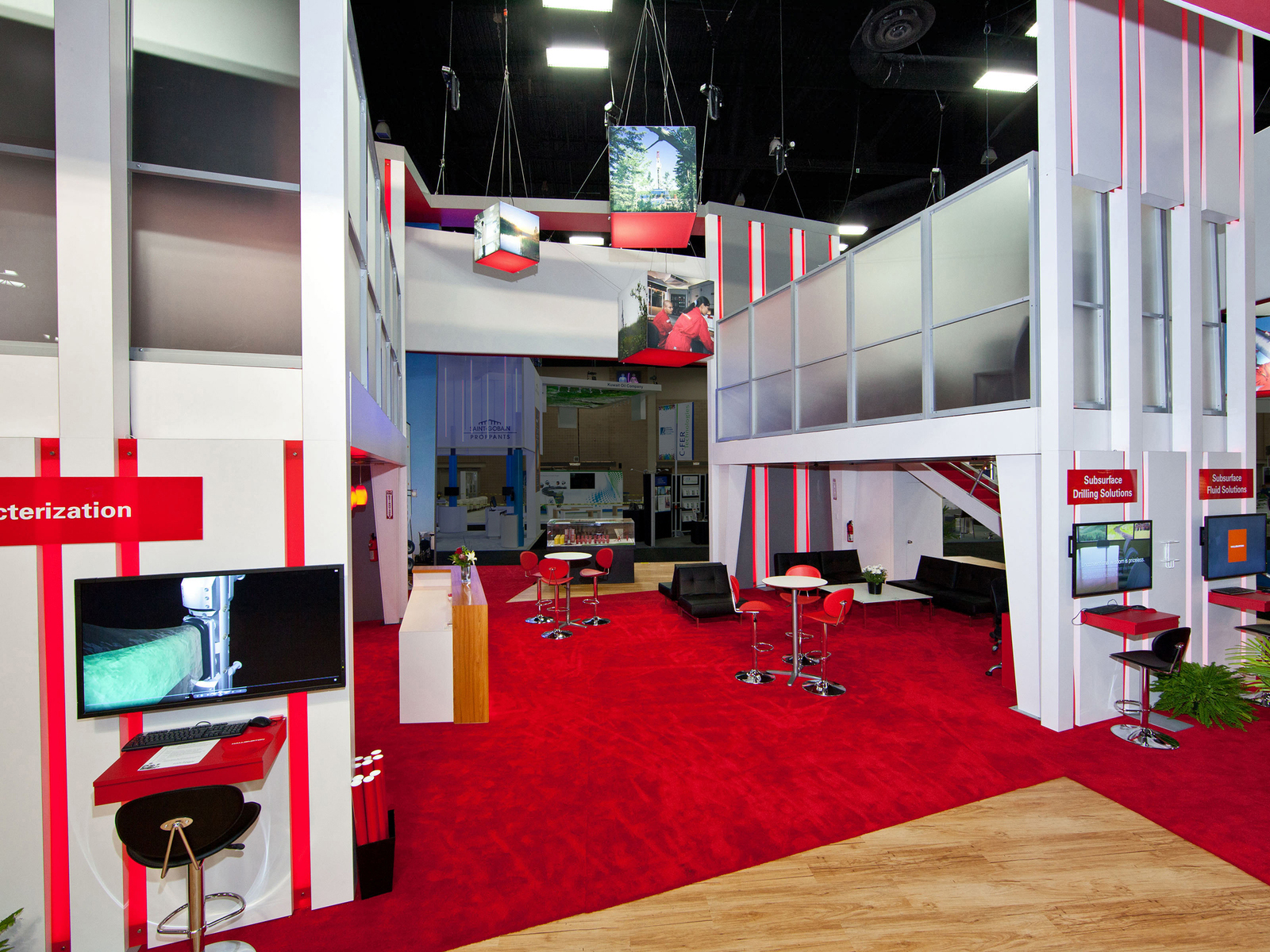 TWO STORIED BOOTH DESIGN
