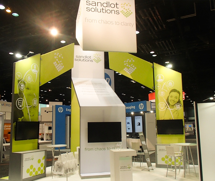 angular booth design